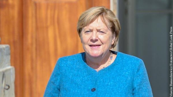Меркель заявила Польше о поддержке Северного потока  2