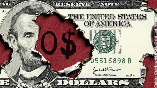 Республиканцы заблокировали в Сенате продление лимита госдолга США