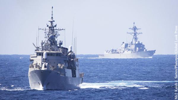 США создали группу эсминцев для противодействия России в Атлантике