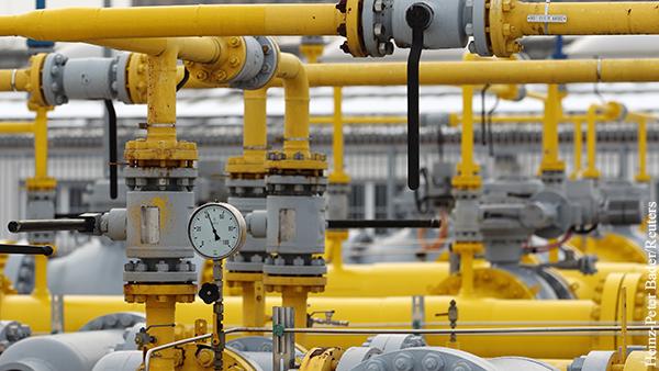 Цена газа в Европе впервые превысила 1 тыс. долларов за 1 тыс. кубометров