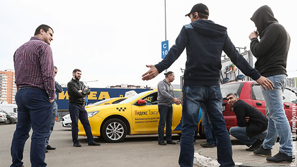 Водителям с судимостью решили запретить работать в такси
