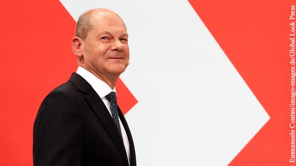 В ХСС признали высокие шансы Шольца стать канцлером