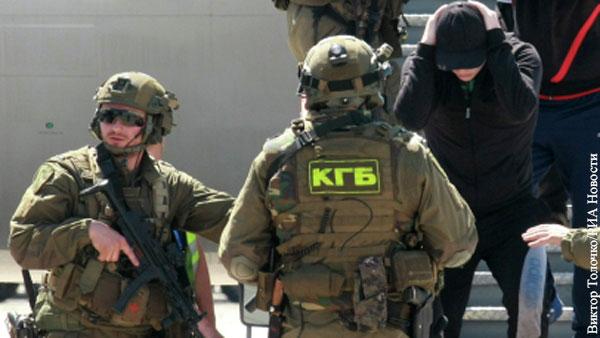 Сотрудник КГБ Белоруссии погиб во время антитеррористической операции