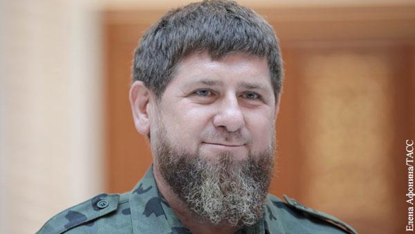 Кадырова наградили орденом За заслуги перед Отечеством III степени