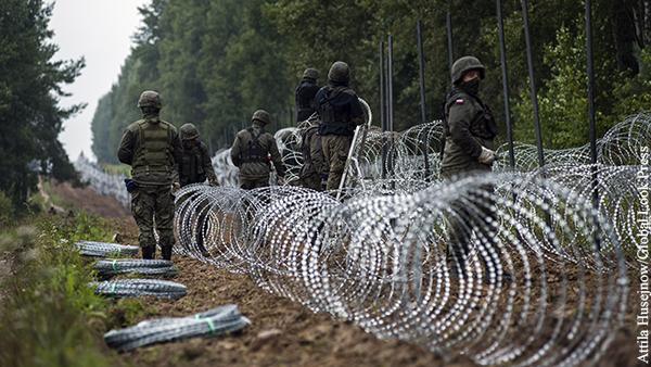 Мнения: Стена на границе Белоруссии и Польши  только начало