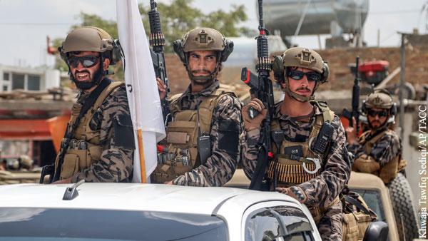 В Афганистане направили на границу батальон смертников