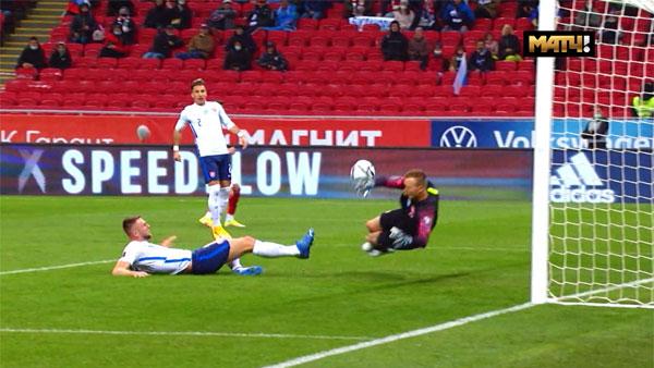 Сборная России по футболу обыграла команду Словакии