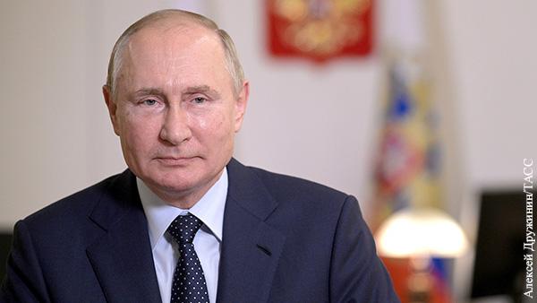 Путин ответил на вопрос американского СМИ о преемнике