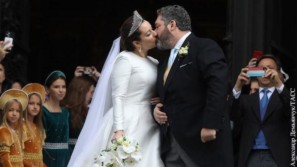 Свадьба Георгия Михайловича Романова стала одним из самых обсуждаемых событий последнего времени