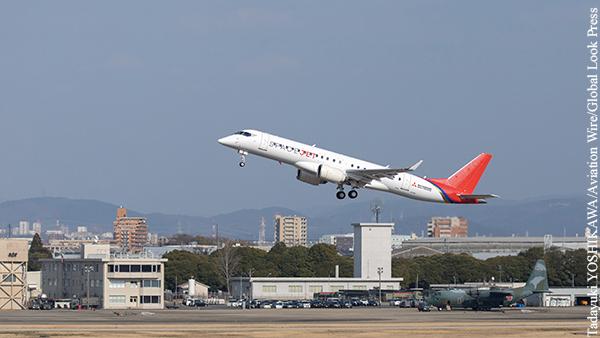 Японский лайнер SpaceJet останется на этапе испытательных полетов