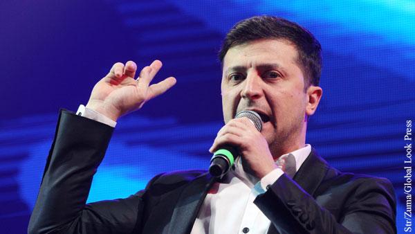 Заявление штаба Зеленского об урегулировании в Донбассе сравнили с шутками из КВН