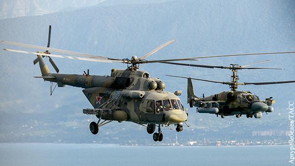 Российские вертолеты лишают советской идеи