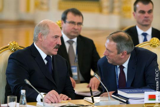 Лукашенко избавился от «токсичного» правительства
