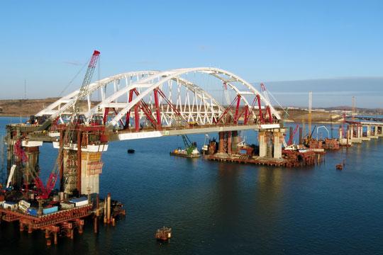 Выбрано название моста между Кубанью и Крымом