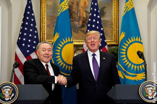 Казахстан сообщил о подписании контрактов в США на 7 млрд долларов
