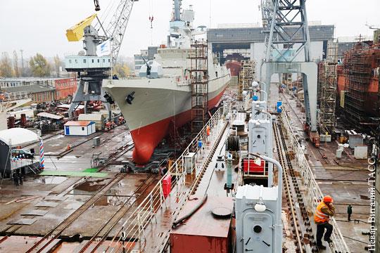 В России решили «реанимировать» три фрегата проекта 11356