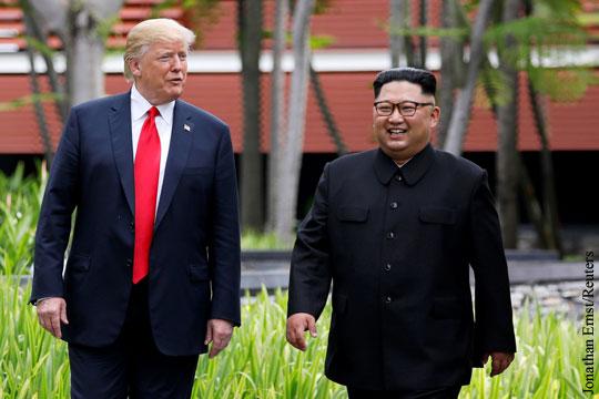 Стало известно содержание договоренностей Трампа и Ким Чен Ына