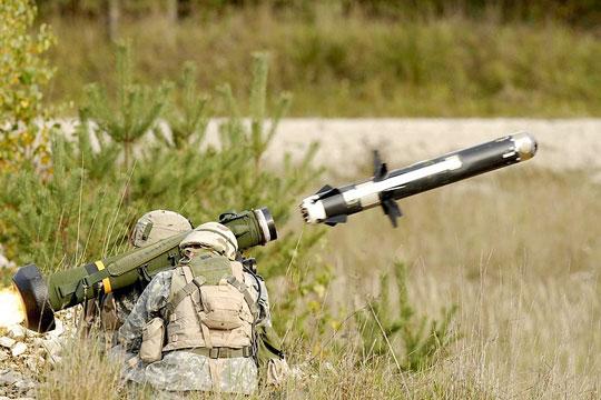 Грузинские военные впервые опробовали «джавелины»