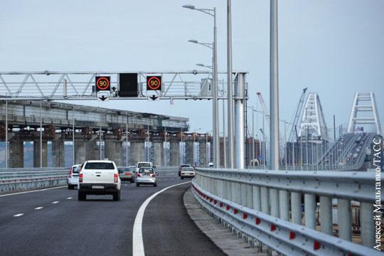 Проявился эффект бумеранга от украинских фейков о Крымском мосте