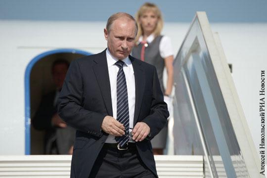 Путин прилетел в Австрию на свадьбу главы МИД страны