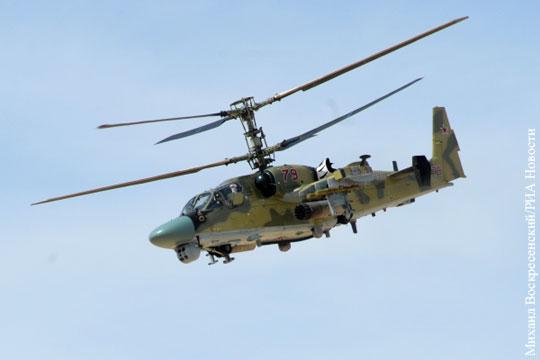 Российский вертолетчик рассказал о «свободной охоте» в Сирии