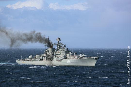 Российский крейсер включили в число самых мощных