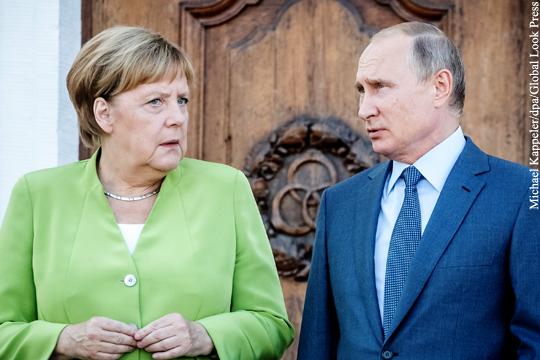 Путин и Меркель констатировали тотальную пробуксовку минских договоренностей