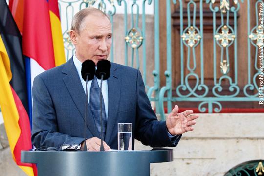 Путин призвал ЕС приложить усилия для возвращения сирийских беженцев на родину