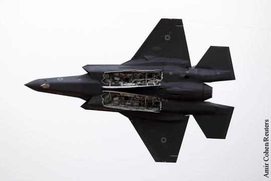 Израиль вслед за США запретил полеты F-35