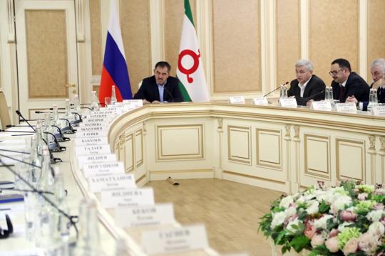 Представители митингующих не пришли на совещание по границе с Чечней