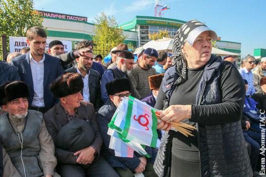В Ингушетии протест уходит с улицы