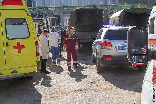 Названа причина гибели большинства жертв в Керчи
