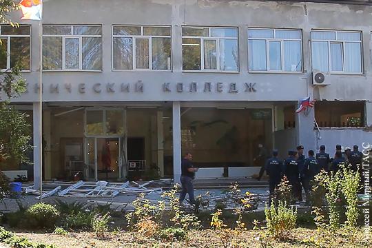 Студенты керченского колледжа рассказали об отключенной рамке металлоискателя