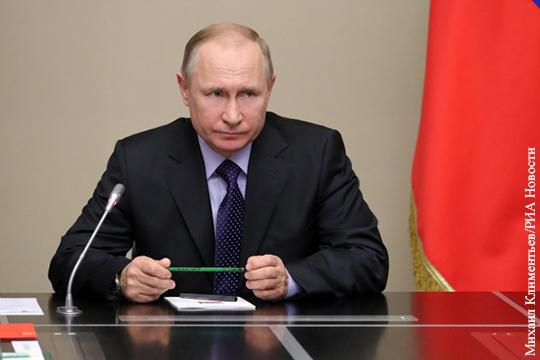 Путин рассказал, почему не отвечает на звонки Порошенко