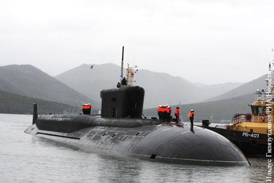 Россия построит еще две подлодки класса «Борей»