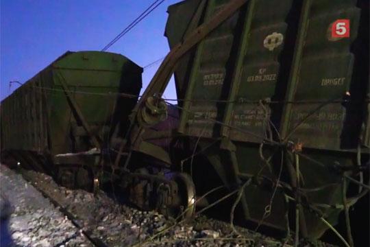 С рельсов на Транссибе сошли более 70 вагонов военного состава