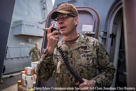 В мире: Кто довел до самоубийства ключевого адмирала ВМС США