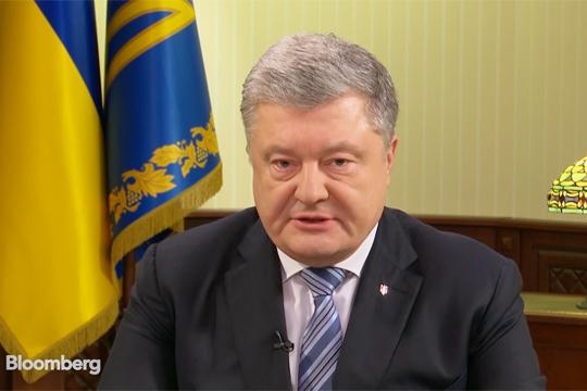 Порошенко попросил Запад ввести против России «азовские санкции»