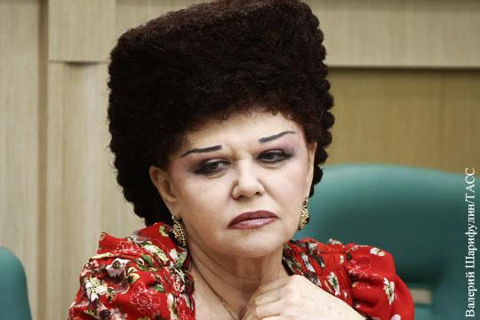 Валентина Петренко ушла из Совета Федерации