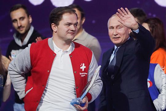 Путин наградил Добровольца России – 2018