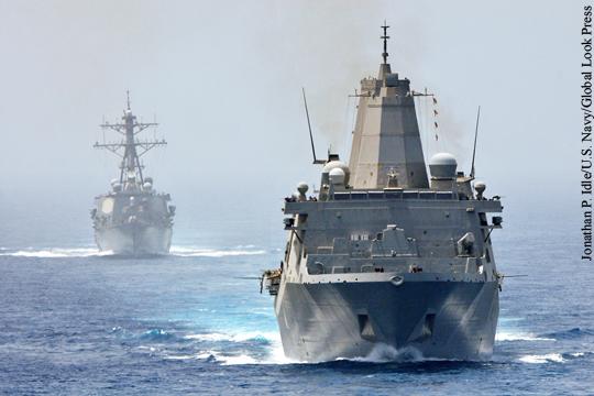 Командование ВС США захотело отправить корабли в Черное море