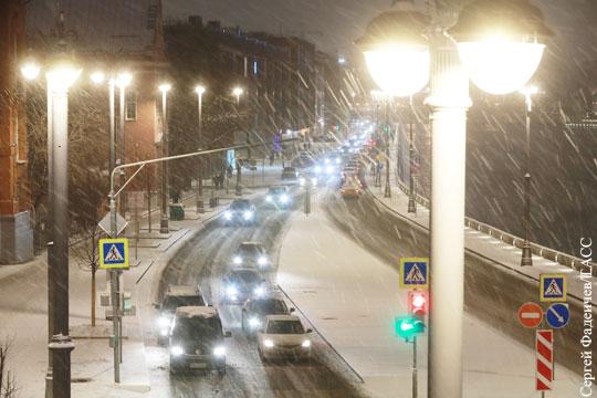 Синоптики назвали особенность выпавшего ночью в Москве снега