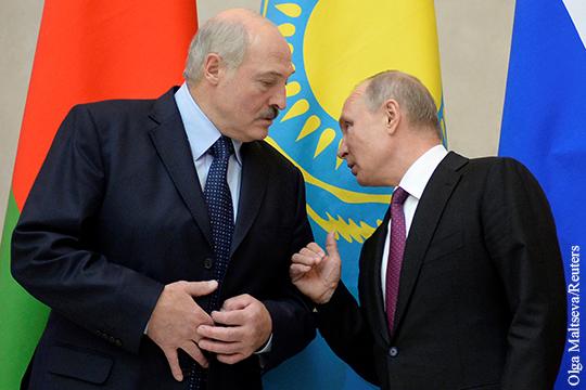 Политика: Что стоит за «очень бурным объяснением» Путина с Лукашенко