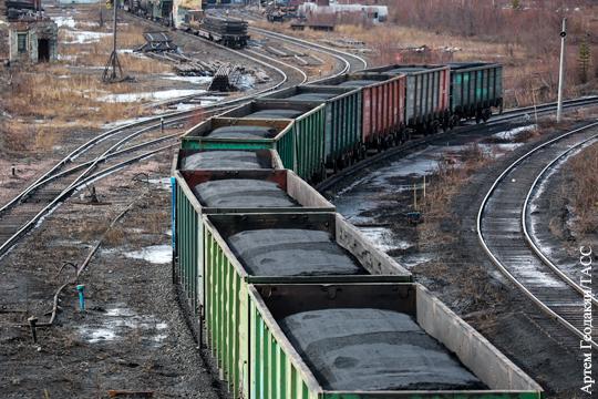 Россия нарастила поставки угля на Украину