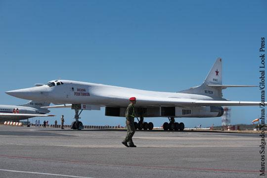 Ракетоносцы Ту-160 вернулись из Венесуэлы в Россию