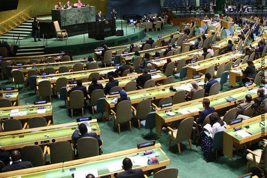 Россия предложила Генассамблее ООН поддержать ДРСМД