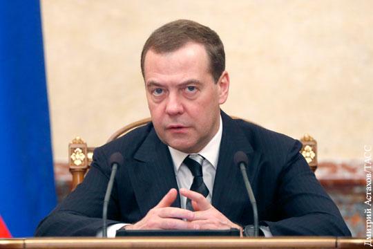 Медведев прогнозирует экономике России мощную гравитацию