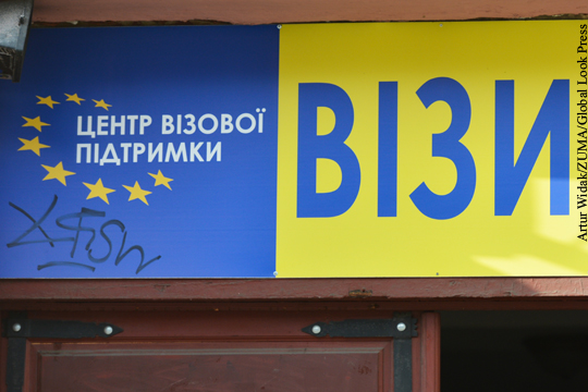 Украину предупредили о возможности отмены безвизового режима с ЕС