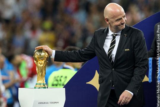 ЧМ-2018 оказался самым прибыльным в истории чемпионатов мира по футболу