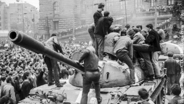 Ветераны Пражской весны испугали Чехию